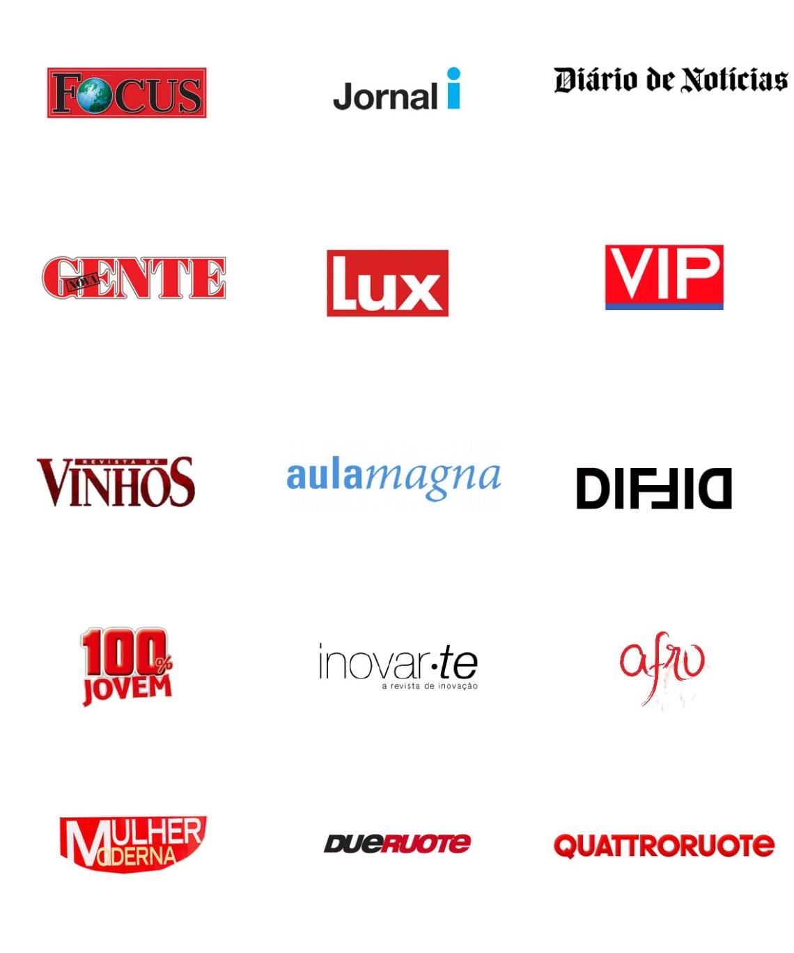logos revistas juntos